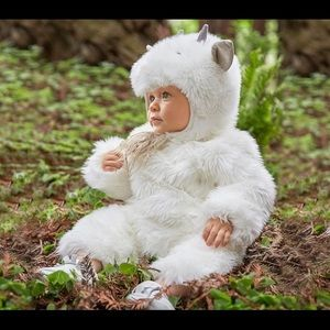 Pottery Barn Kids Baby Goat Costume 12-24 Months
